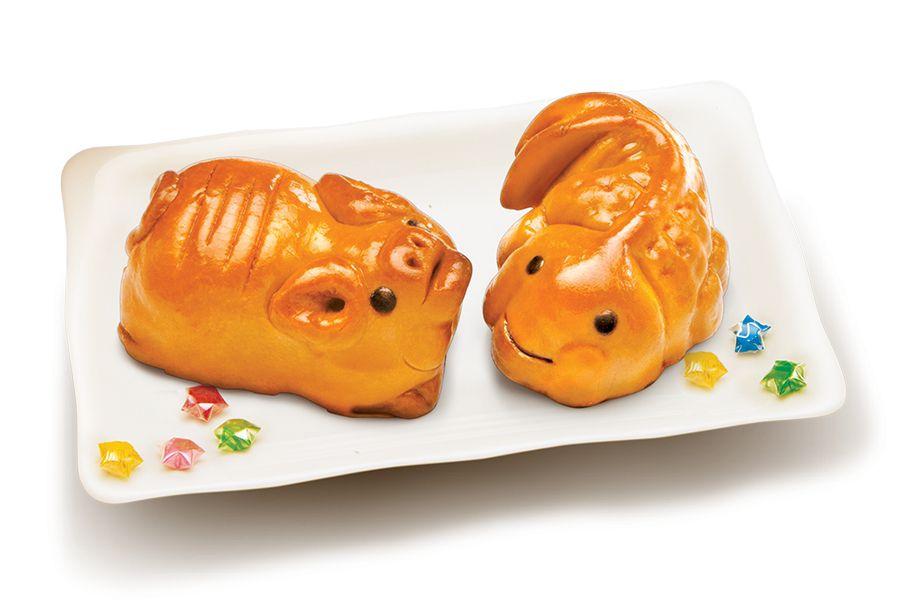 Bánh trung thu kinh đô | Bánh cá vàng - Bánh heo vàng
