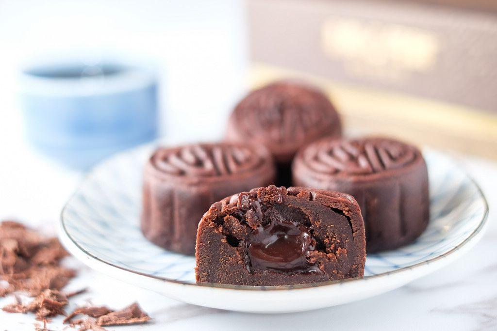 Bánh dẻo chocola - socola dẻo trung thu