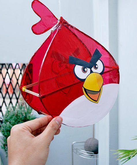 Đèn lồng hình Angry Bird