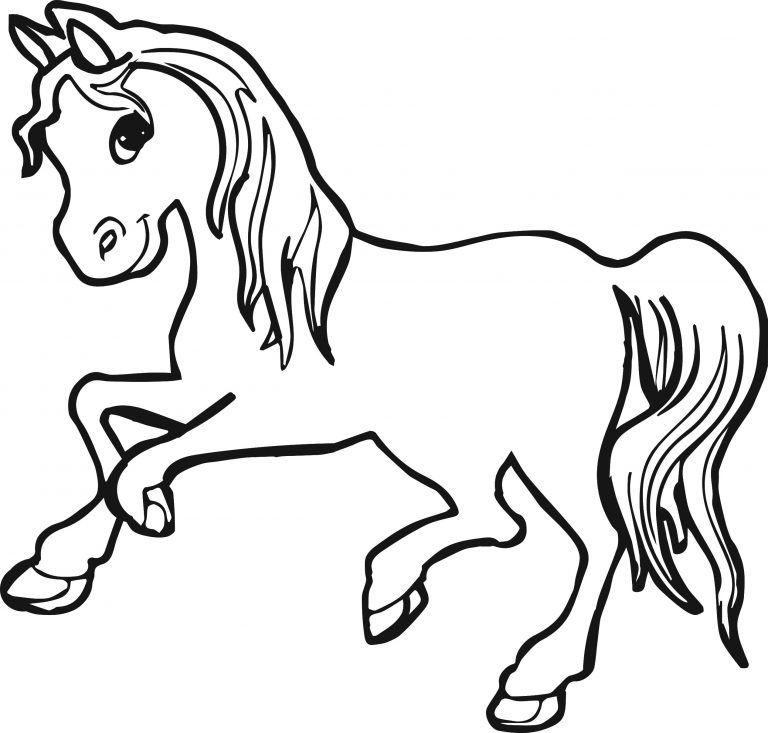 hình ngựa dễ thương