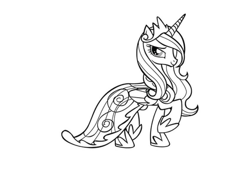 Ngựa pony trong phim hoạt hình