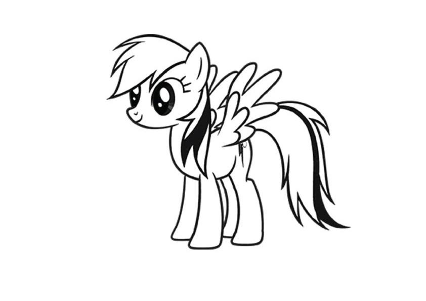 Ngựa pony cầu vồng-Dash