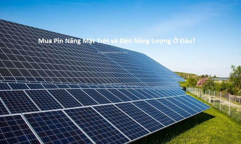 Mua tấm năng lượng mặt trời ở đâu?