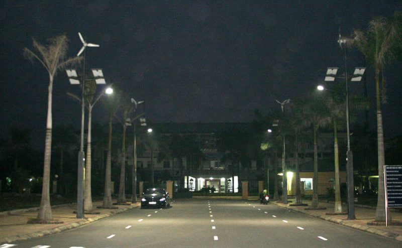Cách lắp đặt đèn đường năng lượng mặt trời