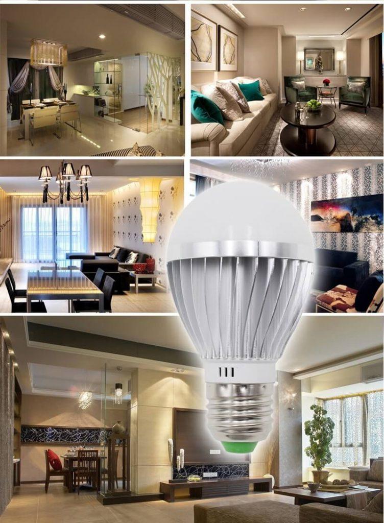 ứng dụng đèn led tiết kiệm