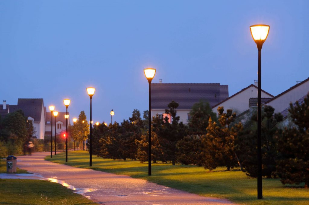 Lợi ích bóng đèn led chiếu sáng đường phố