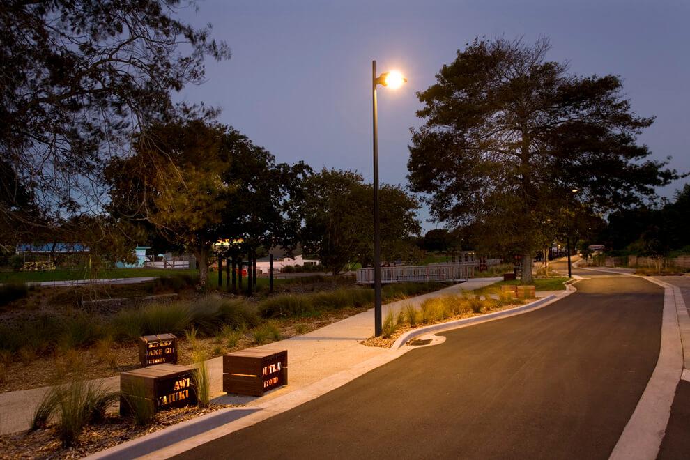 tiêu chuẩn đèn điện chiếu sáng đường phố