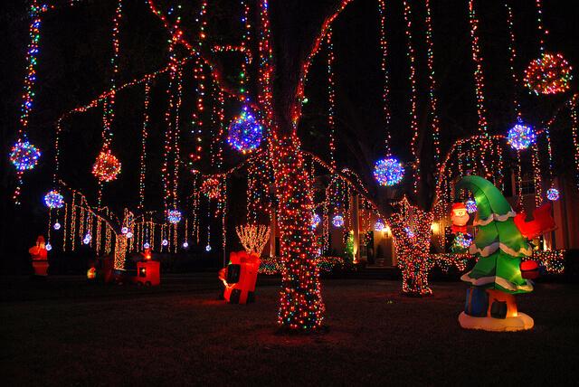 Đèn led dây trang trí Noel